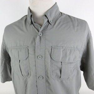 Duluth Trading Co Medium Short Sleeve Shirt Nylon